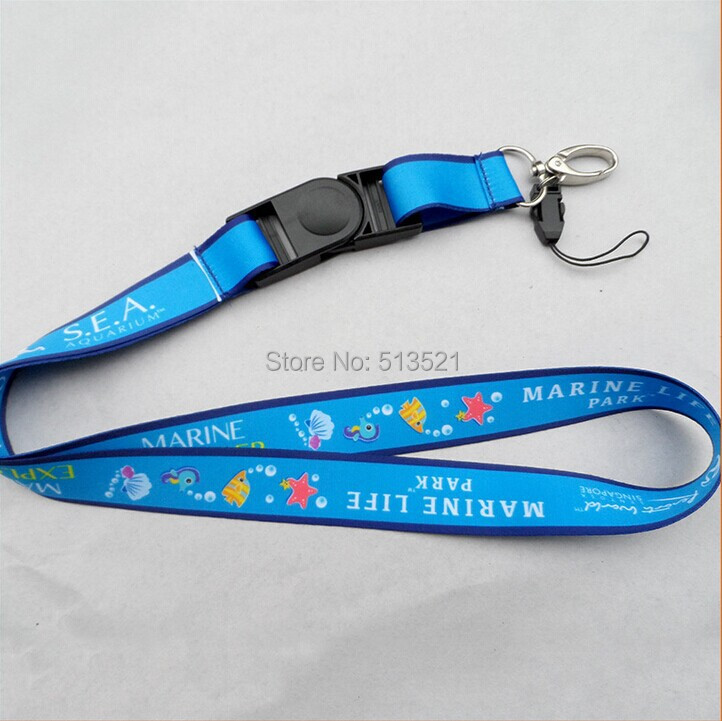 600PCS/Lot Customized Heat transfer Printed Polyester Custom Thread Lanyard With Lobster Claw, Phone and platic buckle L0109(China (Mainland))