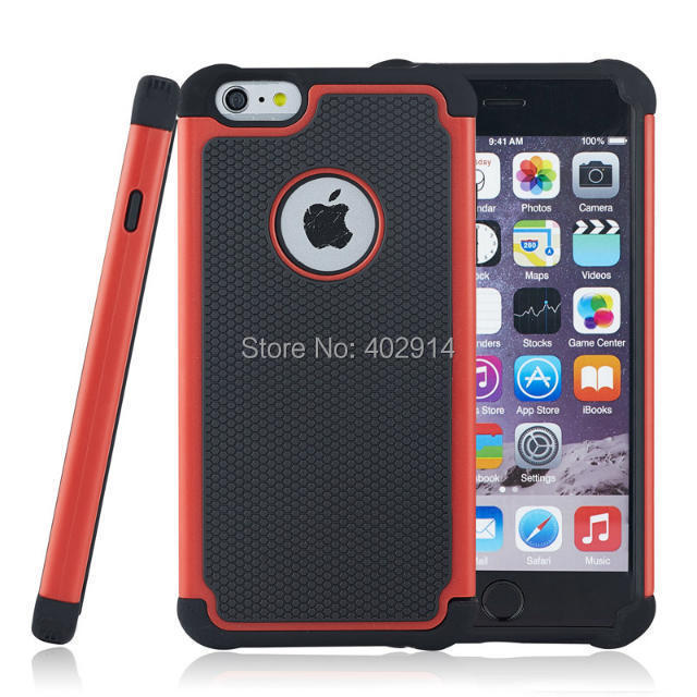 iPhone ballistic phone case iphone 4 : Heavy Duty ballistic Impact Rugged Shockproof Case Cover for iPhone ...