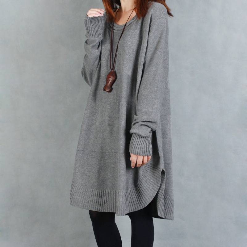 Oversized Sweater Plus Size - Cardigan With Buttons