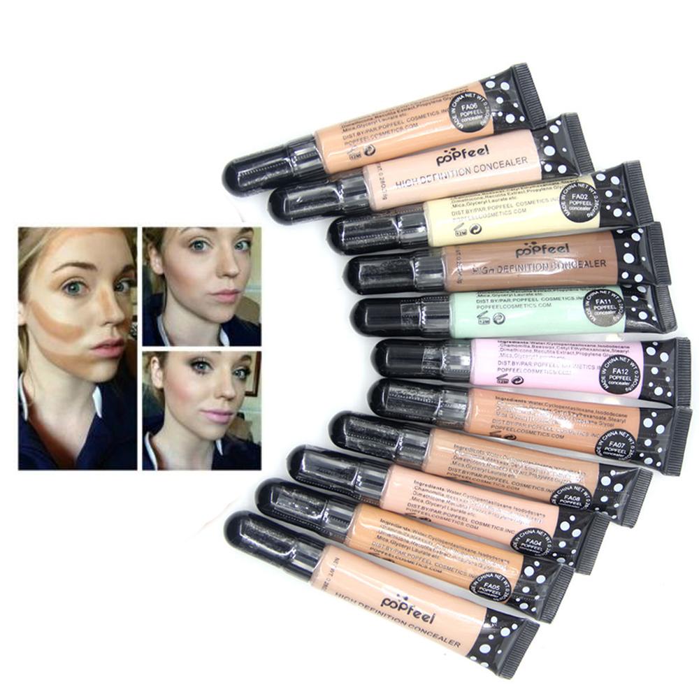 Popfeel Base Concealer Sticker Eye Contour Corrector Liquid Face Corrective Bronzer Contour Primer Makeup Foundation Maquiagem(China (Mainland))