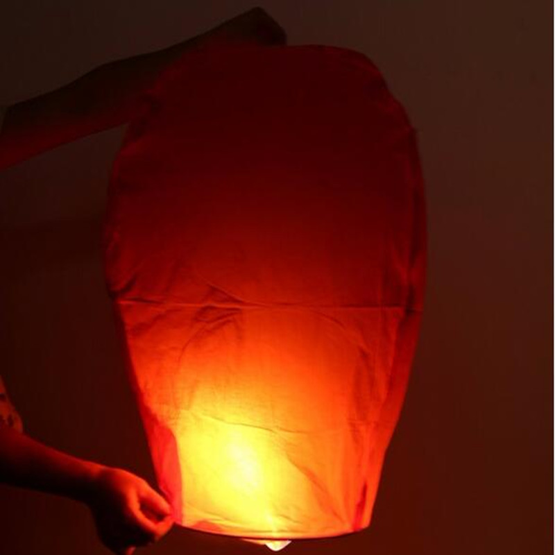 10pc Wishing Lamp Round Paper Chinese Lanterns Kongming Flying Paper Sky Lanterns For Wedding Bachelorette Party Balloons(China (Mainland))