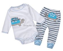 High Quality Baby feet long sleeved Romper climbing clothes r winter jumpsuits spring autumn  free shipping(China (Mainland))