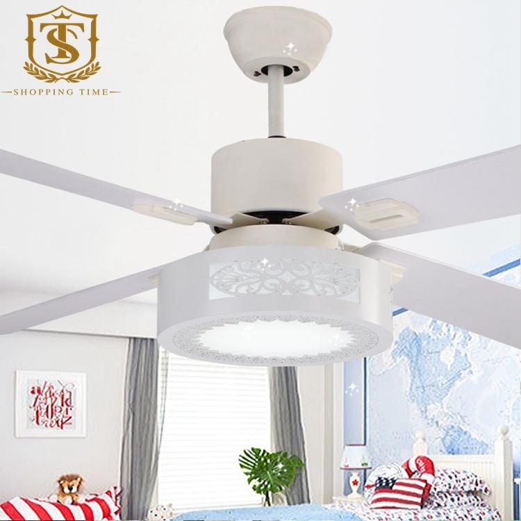 new modern white 52inch ceiling fan lighting wooden blades fan light 2021<br><br>Aliexpress