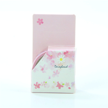 1 Pc / Pack Cherry Blossoms Series Masking Paper Adhesive Tape Set/writting Memo Sticky/scrapbooking Tools/office School Supplie