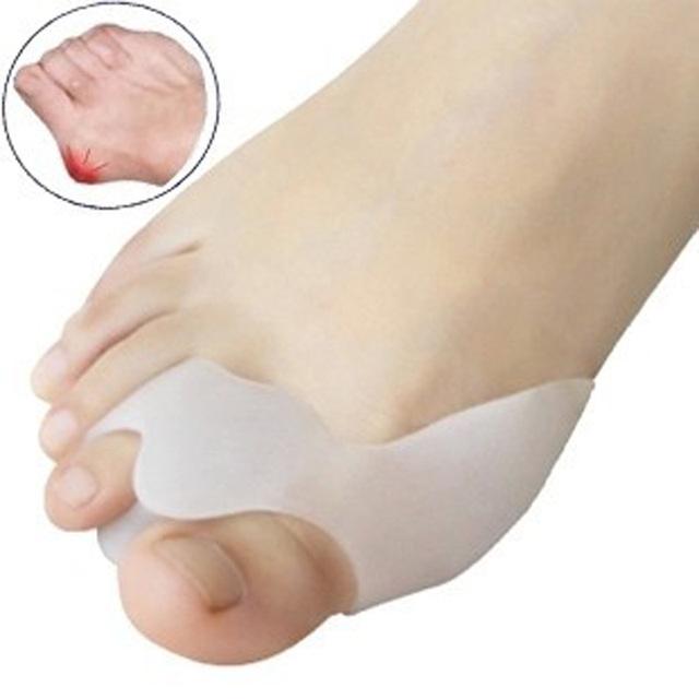 Бестселлер-бесплатная доставка кремнийорганический гель-сепаратор пальцов ноги и предохранитель пальцов-выворот и установщик кисты пальцов ноги