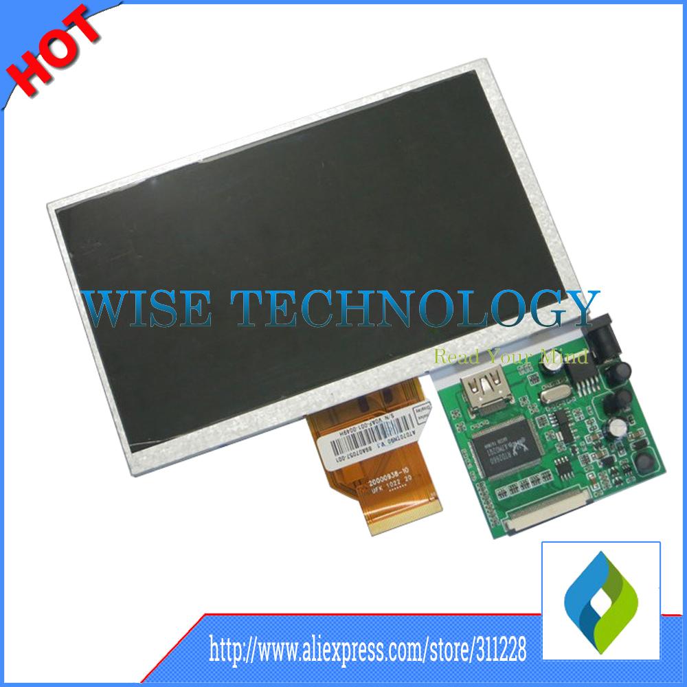 Free shipping!7 inch Raspberry Pi IPS LCD display With HDMI VGA AV Screen Module For Pcduino Banana Pi 800x480 tablet pc LCD(China (Mainland))