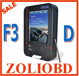 Promotion! 2014 Newest Original Fcar-f3-D DHL free delivery fast fcar f3-d diagnostic scanner for Heavy Duty Trucks(China (Mainland))