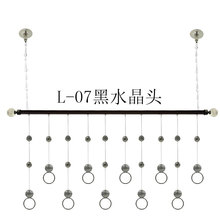 L-07 Rome bar clothing store boutique clothing special crystal ring hanger frame wall rack hanging frame(China (Mainland))