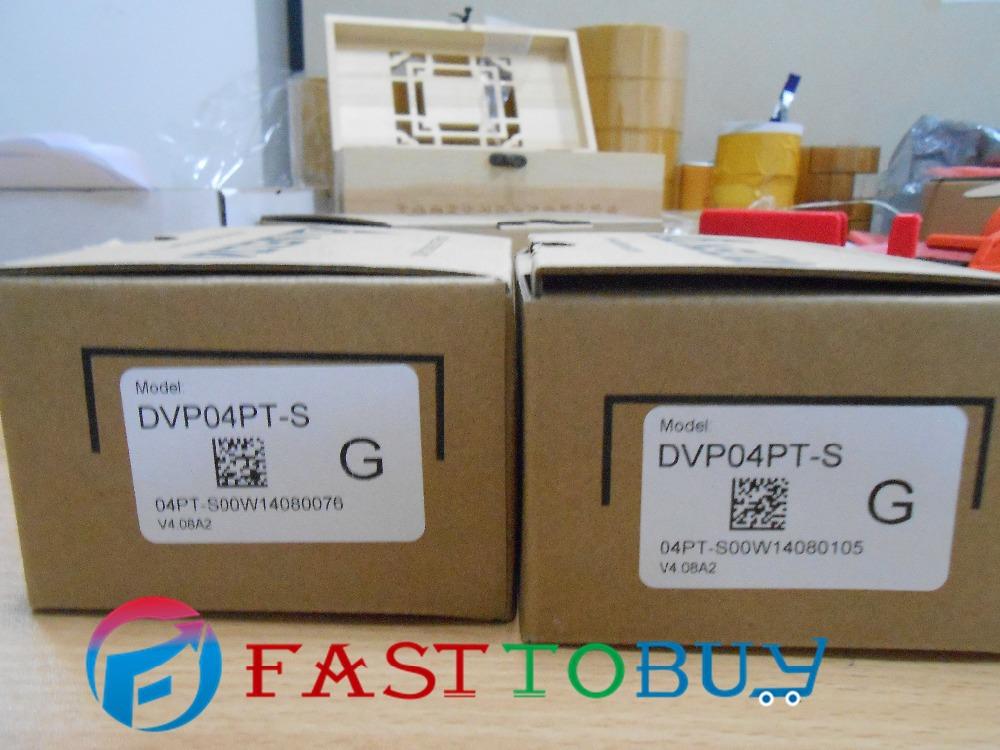 Здесь можно купить  Delta PLC SS series analog extension Module DVP04PT-S 4PT100 12 bit PID-inside bit New Free shipping  Электротехническое оборудование и материалы