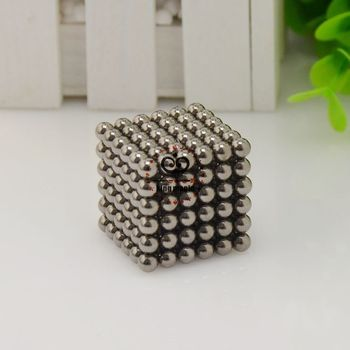 Best Selling! Size: 5mm Neo Cube 216pcs/set With Box Buckyballs Neocube Magnetic Balls Color:Black-nickel