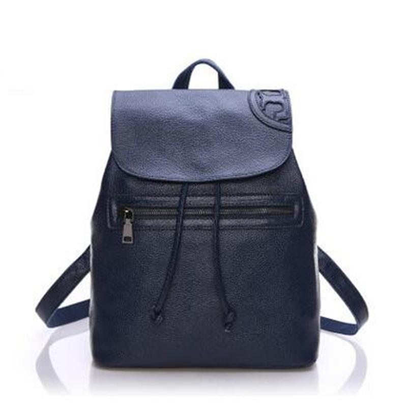 2016 new handbag shoulder bag leather bag leather handbag backpack Korean one generation<br><br>Aliexpress