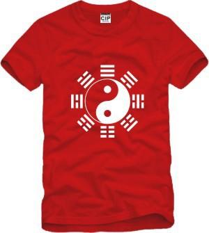 Tai Chi Eight Diagrams Sportswear Printed Mens Men T Shirt Tshirt Fashion 2015 New Short Sleeve O Neck Cotton T-shirt Tee(China (Mainland))