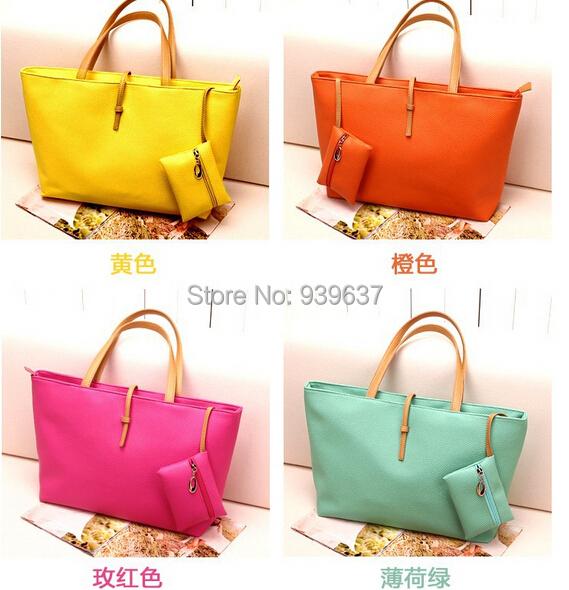 free shipping/women Messenger / 2015 new / fashion handbags / autumn Korean version / simple big / handbag / bag tide singles(China (Mainland))