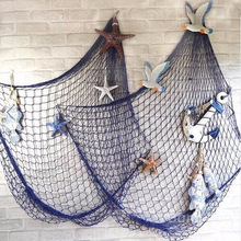 Buy Wall Hanging Decoration DIY Fishing Net Seaside Beach Sea Shells Fishing Net Party Gift Home Decor E2S for $6.54 in AliExpress store