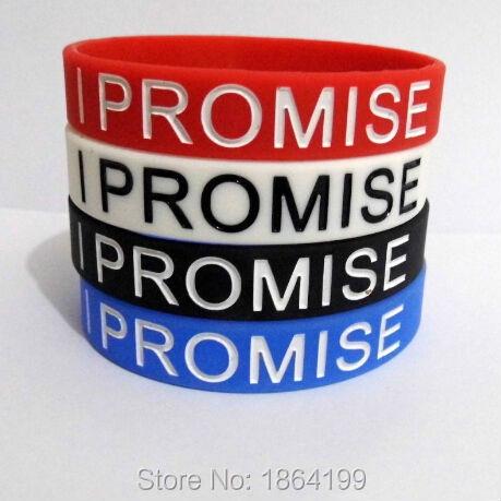 4pcs/lot 4 colors Promotions Hologram Bracelet LeBron Jame I Promise Basketball Sport Hologram Wristband high quality(China (Mainland))