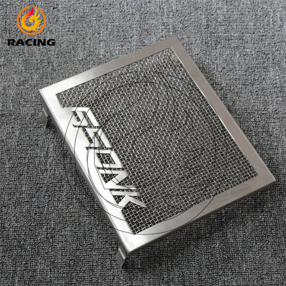motorcycle radiator protective cover Stainless steel Radiator Guards Grille Cover Protecter CFMOTO 650 650NK CF650NK - SOSO MOTOR store