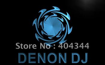 LL038- Denon DJ Home Audio Theater NR LED Neon Light Sign