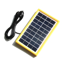Buy BUHESHUI 3W 9V Solar Cell Module Polycrystalline DIY Solar Panel System For 6V Battery Charger+DC 5521 Cable 3M Free Shipping for $13.20 in AliExpress store