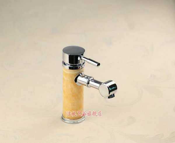 Luxury Artisitic Polished Brass Bathroom Faucet Vessel: Free Shipping European Style Luxury Marble Brass Hotel