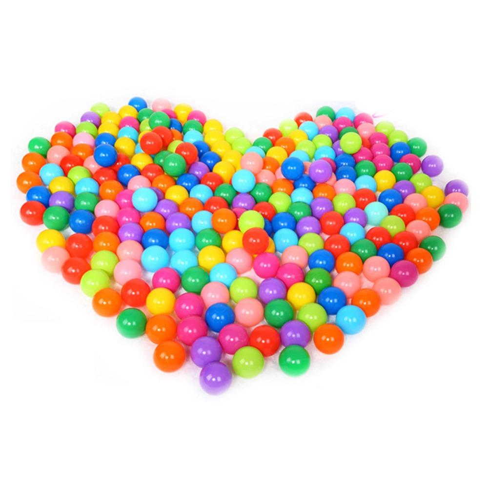 100pcs Pool Balls Eco-Friendly Soft Funny Baby Kid Swim Plastic Balls Pit Balls for Pool(China (Mainland))