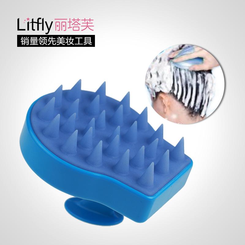 1 Piece rita hair comb massage hair brush scalp care flower(China (Mainland))