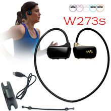 Sport MP3 W273 Wireless earphone mp3 for sony 8G stereo Walkman Running mp3 headset waterproof rating: IPX2 can not swimming(China (Mainland))