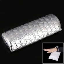 Soft Nail Art Hand Cushion Holder PU leather&Sponge Arm Rest Nail Pillow Professional Manicure Accessories Salon Tool(China (Mainland))