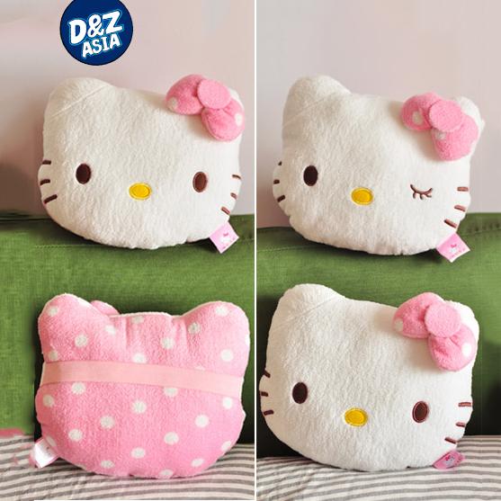 Cute Polka Dot Hello Kitty Car