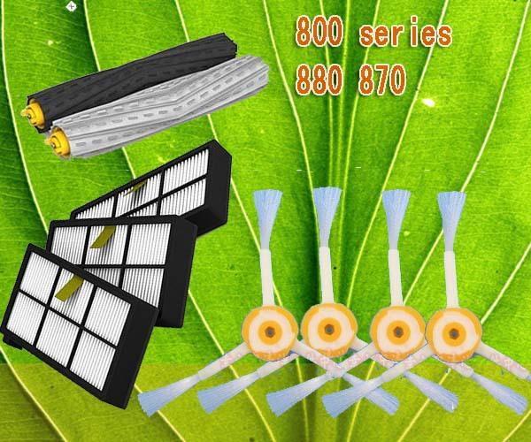 Комплектующие для пылесосов Greeland 1 + HEPA 3 + 4 iRobotRoomba 870 880 Bristle Brush 3 bristle