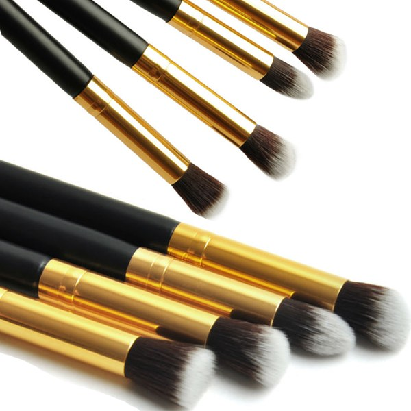 1Set/4PCS Professional Makeup Cosmetic Tool Eyeshadow Eye Shadow Foundation Blending Brush Set Free Shipping(China (Mainland))
