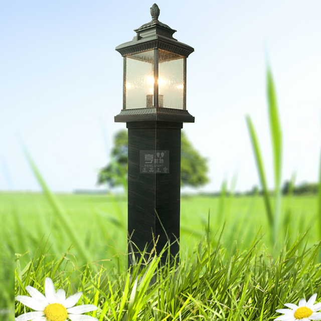 Chinese style waterproof lawn lamp vintage antique outdoor lawn lamp 0172-pp