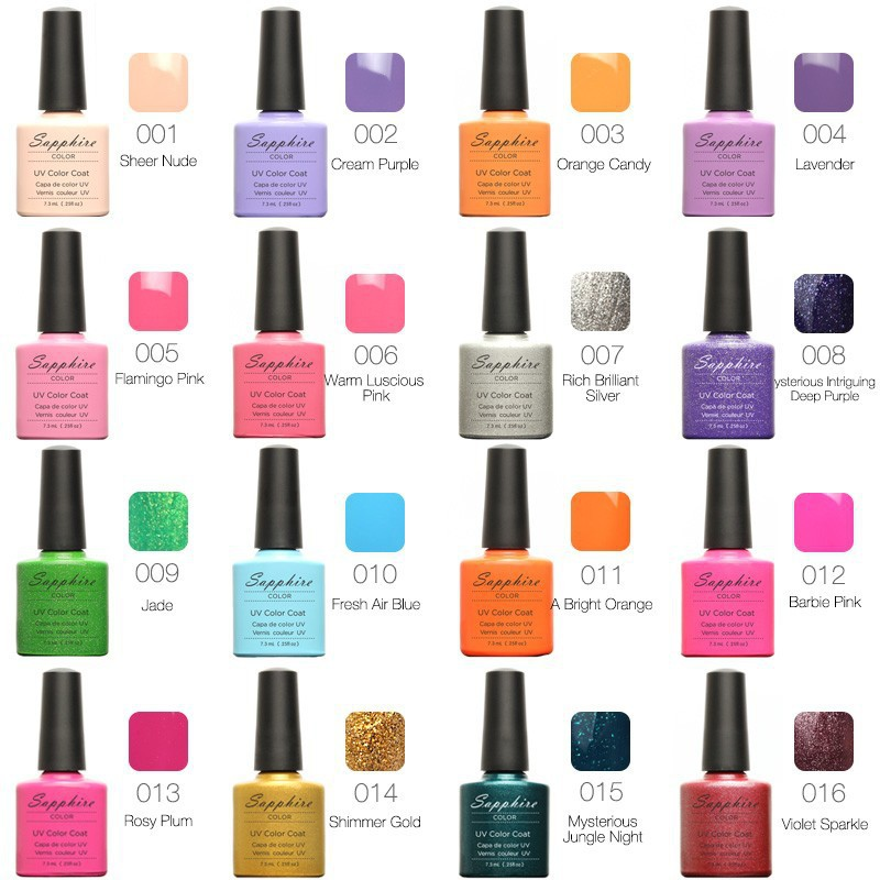 Nails Tools Nail Gel Choose One Shire Newest 80 Fashion Uv Polish Color 7 3 Ml Stickers From Beauty1234 9 02 Dhgate Com