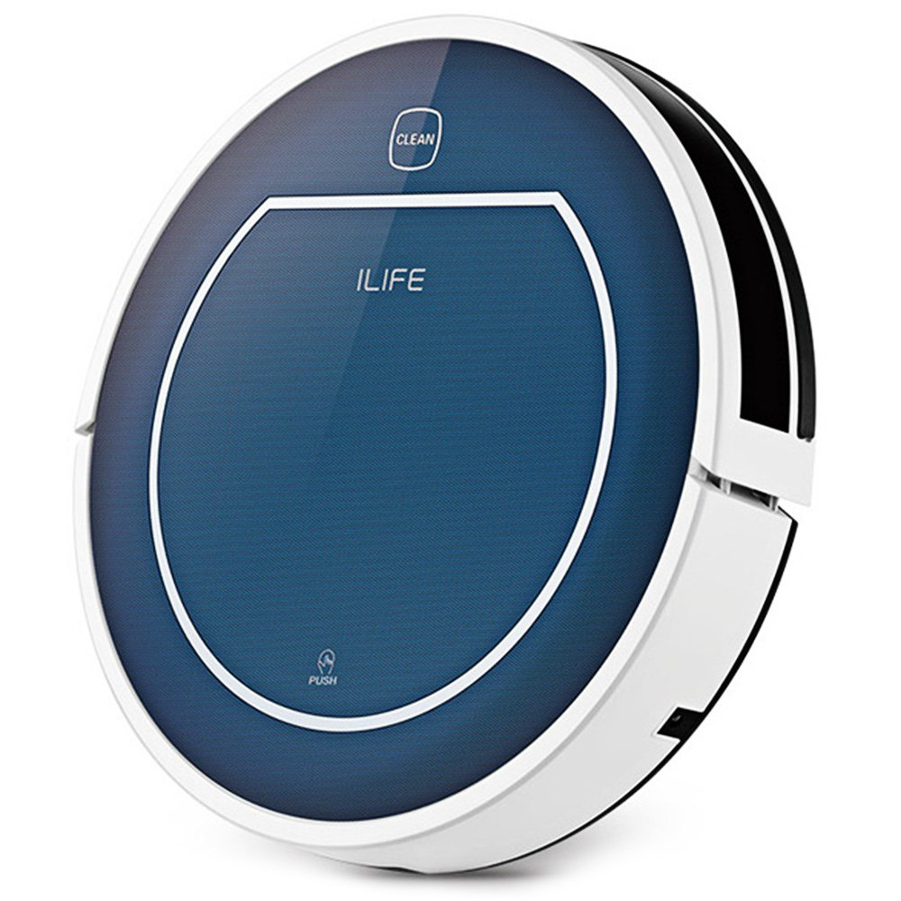 2016 New CHUWI ILife V7 Smart Mop Robotic Vacuum Cleaner Household Buletooth Control Sensor Wireless Bagless Dust Cleaning Robot(China (Mainland))