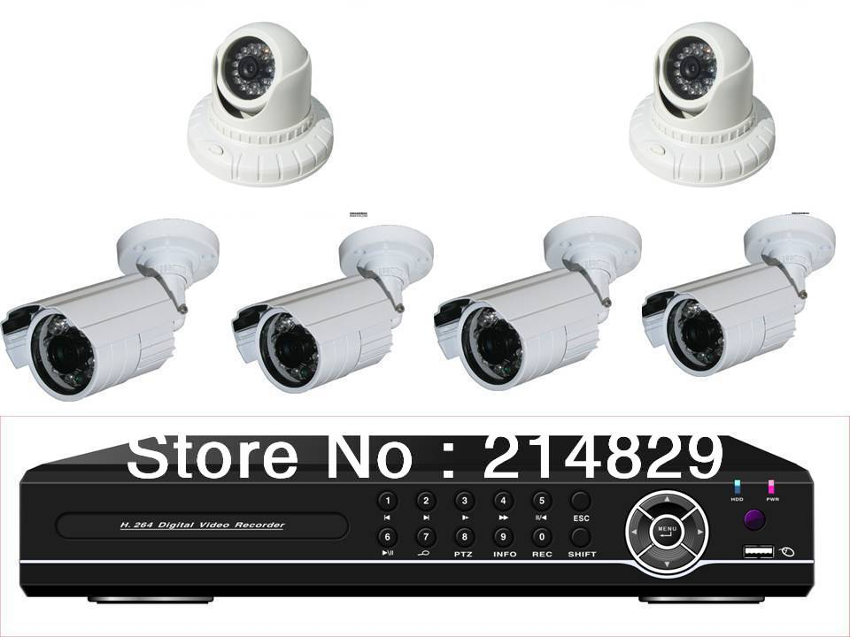 700TVL IR CCTV Security Camera System 8ch D1 DVR Kit 240fps with Mobile Phone View of Blackberry,Iphone,Andriod(China (Mainland))