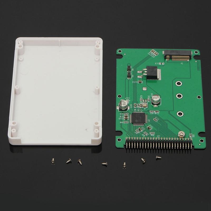 44 Pin M.2 NGFF SATA SSD to 2.5 IDE SATA SSD Converter SATA Adapter Card IDE Adaptor Convertor B+M Key(China (Mainland))