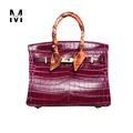 Geniune Leather Lock Totes Alligator Crocodile Crossbody Bags Handbags Women Famous Brand Designer High Quality Ladies