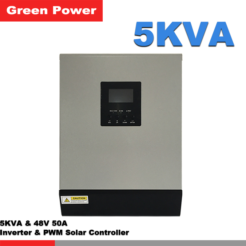 5KVA 48V50A off grid solar inverter with PWM solar charge controller,remote control for hom use(China (Mainland))