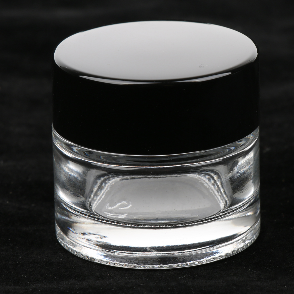 12Pcs 5g Cosmetic Empty Jar Pot Eyeshadow Makeup Face Cream Lip Container for Women Daily Life Using