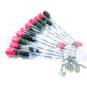 Free Shipping! 20pcs/lot Warm Romantic Rose Soap Flower Wedding Favor Bath Soap Flowers Petal Best Gifts(China (Mainland))