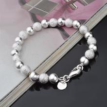 2016 New Charm Bracelets & Bangles for Women Fashion Sliver Plated European Beads Women Bracelets Bangles(China (Mainland))