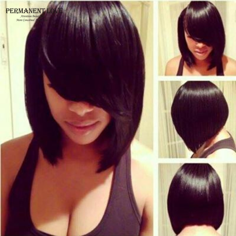 Aliexpress.com : Buy Synthetic hair bob wigs for black women fashion ...