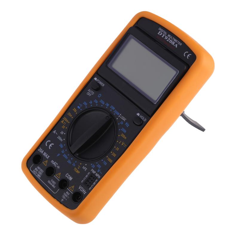 New Angle Adjustable Screen Digital Multimeter Volt Amp Meter Ohmmeter Multimeter Digital ProfessionalFEN#<br><br>Aliexpress