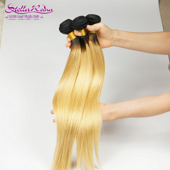 Blonde Hair Silky Weave (3 Pcs)