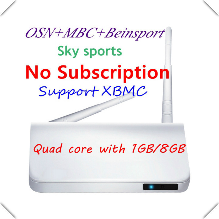 Arabic IPTV box,leelbox,android tv box,no monthly fee,support Beinsports/MBC/OSN better than Q7,cs918,mk888 tv box,support XBMC(China (Mainland))