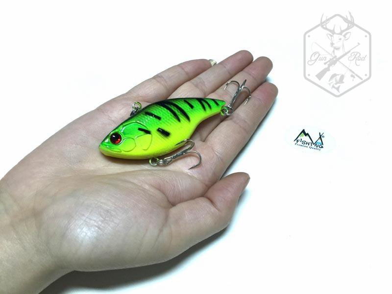 Гаджет  1pcs/lot M&X Japan lure Fishing Lure VIB lure Vibration crankbati Hard Bait lures Walleye Crappie Fishing 18.2g 92mm 6 color None Спорт и развлечения
