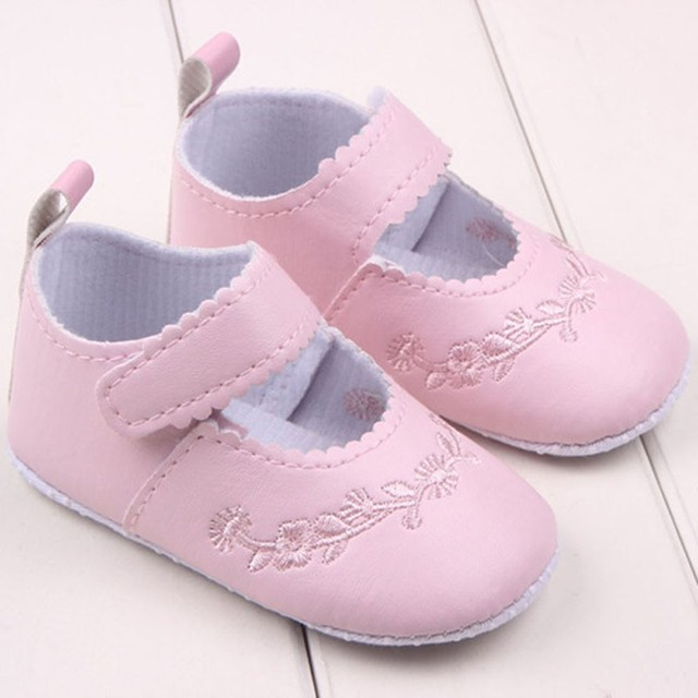 Baby Girl Crib Shoes