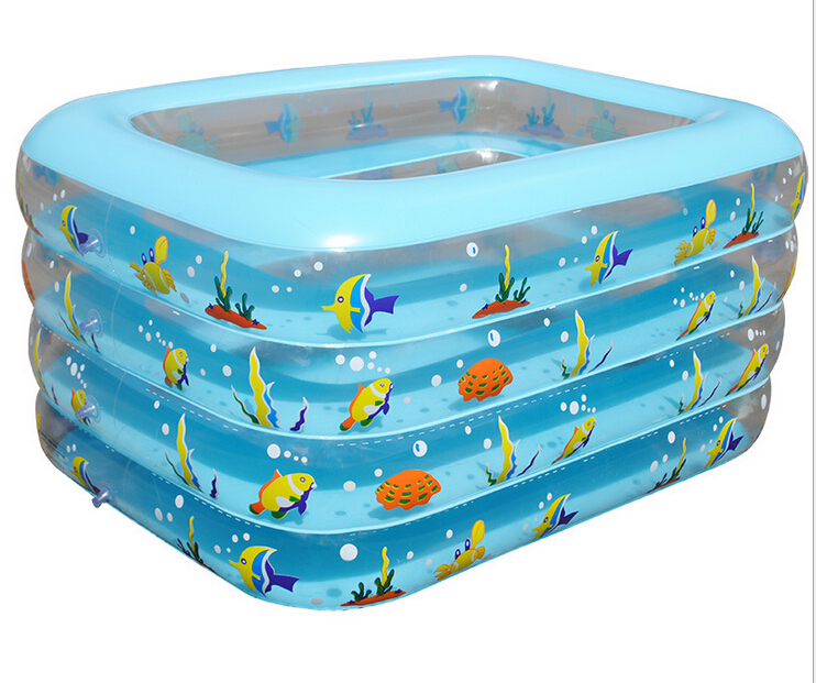 Rectangulaire piscine gonflable promotion achetez des for Piscine portable