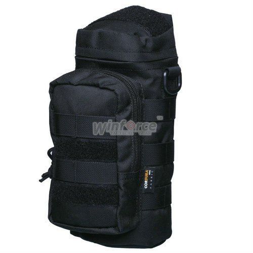 WINFORCE TACTICAL GEAR / MOLLE Bottle Holder with Shoulder Strap / 100% CORDURA / QUALITY GUARANTEED MILITARY AND OUTDOOR