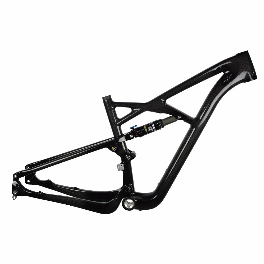 ORGE carbon 29er rear suspension MTB frame Frame+Shock mountain bike frame mtb carbon frame(China (Mainland))