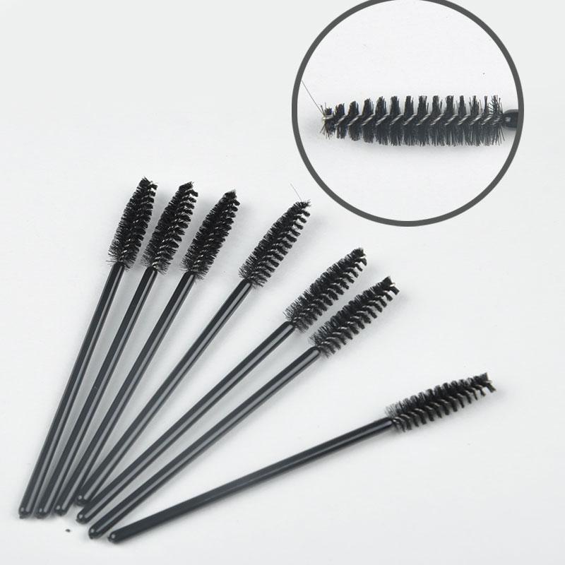 2015 NEW BEAYTY 50 pcs/Set One-Off Disposable Eyelash Brush Mascara Make Up Tool Wands Lash Curler(China (Mainland))